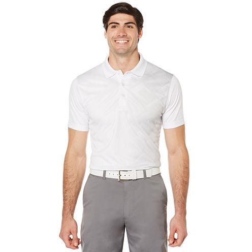 PGA Tour Short Sleeve Argyle Polo Shirt