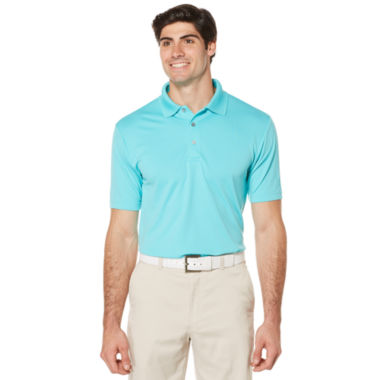 jcpenney.com | PGA TOUR Short Sleeve Airflux Solid Polo- Big & Tall