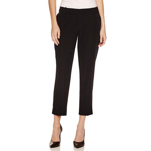 Worthington Slim Fit Suit Pants-Petites
