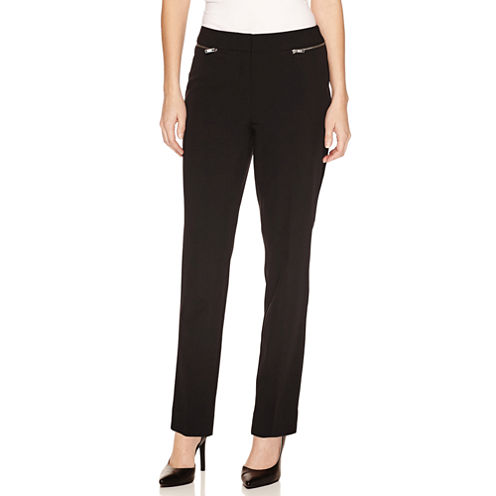 Worthington Modern Fit Suit Pants-Petites