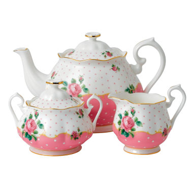 jcpenney.com | Royal Albert Cheeky Pink 3-pc. Serving Set