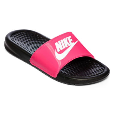 jcpenney.com | Nike® Benassi Girls Slide Sandals - Little Kids