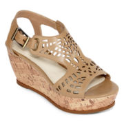Studio Paolo® Fargo Wedge Sandals