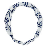 Carole Palm Tree Print Head Wrap