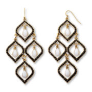 Mixit™ Gold-Tone 4-Teardrop Chandelier Earrings