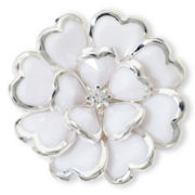Mixit™ White Bloomin' Cute Stretch Ring