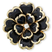 Mixit™ Jet Black Bloomin' Cute Stretch Ring