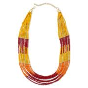 Mixit Multistrand Seedbead Necklace