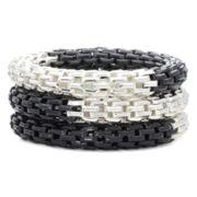Mixit Mesh Tube 3-pc. Bracelet Set