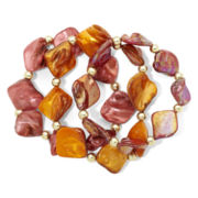 Mixit 3-pc. Shell Stretch Bracelet Set
