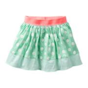 Carter's® Green Mixed Print Skort - Girls 6m-24m