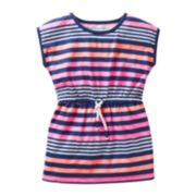 Carter's® Cap-Sleeve Striped Tunic - Girls 5-6x