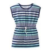 Carter's® Cap-Sleeve Striped Tunic - Girls 5-6x