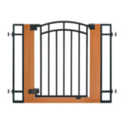 Summer Infant® Wood and Metal Walk-Thru Gate