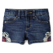 Arizona Crochet-Side Shorties - Girls 12m-6y