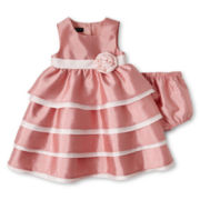 Wendy Bellissimo™ Sleeveless Contrast-Colored Dress - Girls 6m-24m