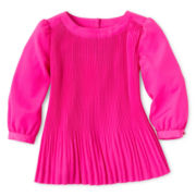 Baker by Ted Baker Pleated Top - Girls 2y-6y