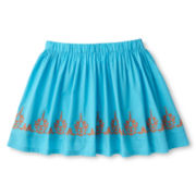 Arizona Embroidered Woven Skirt - Girls 6-16 and Plus