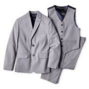 IZOD® Sharkskin Suit Separates - Boys 8-20