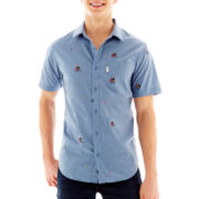 Onaboat Button-Front Shirt