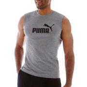 Puma® Logo Muscle Tank