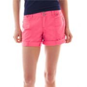 UNIONBAY® Roll-Cuff Shorts