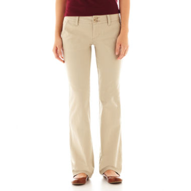 jcpenney.com | Arizona Schoolgirl Bootcut Pants - Juniors