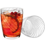 Luigi Bormioli Hypnos Set of 4 Glass Tumblers