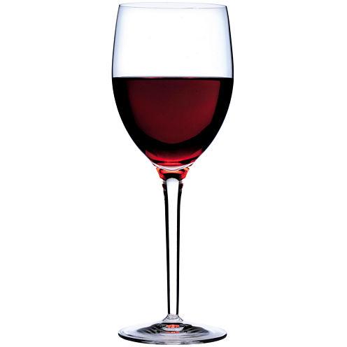 Luigi Bormioli Parma Set of 6 Burgundy Wine Glasses