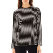 MNG by Mango® Long-Sleeve Striped Blouse