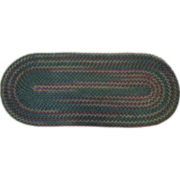 Monticello Braided Oval Runner Rugs