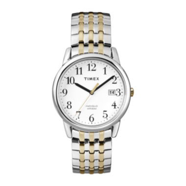 jcpenney.com | Timex® Mens Two-Tone Stainless Steel Expansion Strap Watch T2P2957R
