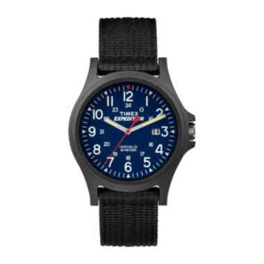jcpenney.com | Timex® Expedition® Mens Black Nylon Strap Watch TW49999007R