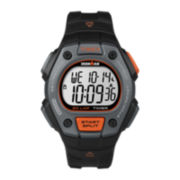 Timex® Ironman Mens 30-Lap Black Resin Chronograph Sport Watch TW5K909007R