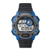 Timex® Expedition® Mens Black Resin Strap Chronograph Sport Watch TW4B007007R