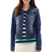 a.n.a® Classic Denim Jacket - Tall