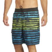 adidas® Acid Stripe Volley Swim Trunks