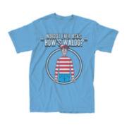 """Where's Waldo® """"How's Waldo"""" Graphic Tee"""