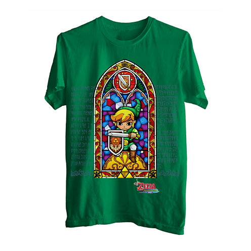 Zelda™ Stained Glass Graphic Tee