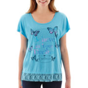 Disney Short-Sleeve Cinderella Cross-Back T-Shirt