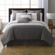 Studio™ Parallel Striped 4-pc. Comforter Set & Accessories