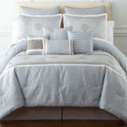 Home Expressions™ Elyse 10-pc. Comforter Set & Accessories