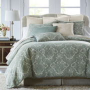Royal Velvet® Azure 4-pc. Chenille Comforter Set