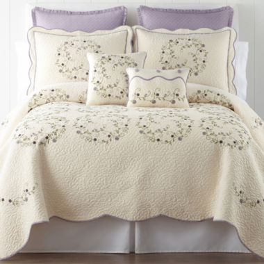jcpenney.com | Home Expressions™ Hailey Quilt & Accessories