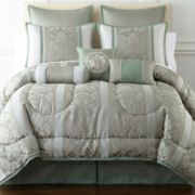 Home Expressions™ Chopin 7-pc. Jacquard Comforter Set & Accessories