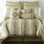 Home Expressions™ Traviata 7-pc. Comforter Set & Accessories