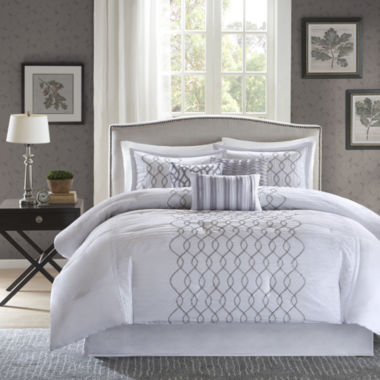 jcpenney.com | Madison Park Lillian Embroidered 7-pc. Comforter Set