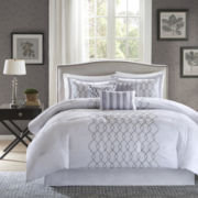 Madison Park Lillian Embroidered 7-pc. Comforter Set