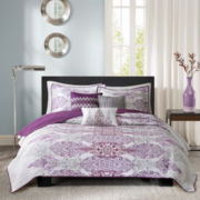 Madison Park Largo 6-pc. Quilt Set