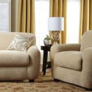 SURE FIT® Royal Diamond Stretch 2-pc. Sofa Slipcover
